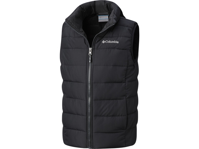 Columbia Powder Lite Puffer Weste Jugend black